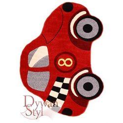Dywan Joyon Plus Auto czerwone czerwony 133x190 prostokąt