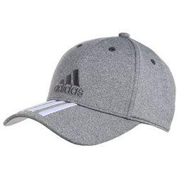 adidas Performance Czapka z daszkiem dark grey heather/white - produkt z kategorii- Nakrycia głowy i czapki
