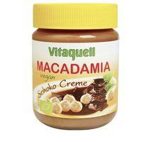 Masło czekoladowe z orzechami macadamia vegan bio 250g -  marki Vitaquell