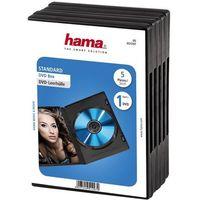 Hama Pudełko  dvd jewel case (5 sztuk)