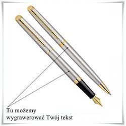Zestaw Waterman Hemisphere GT pióro i długopis prezent + możliwość graweru, towar z kategorii: Na imi