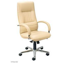 Fotel gabinetowy linea steel04 chrome, promocja! marki Nowy styl