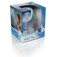 DISNEY - Lampka nocna Projektor LED Niebieski Kraina Lodu Wys.11,8cm