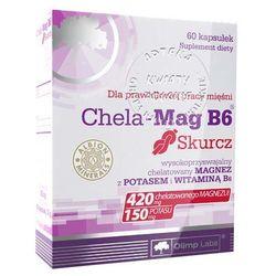 Chela-Mag B6 Skurcz kaps. x 60 - produkt farmaceutyczny
