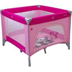 Coto Baby, kojec Conti, różowy, 100x100 cm
