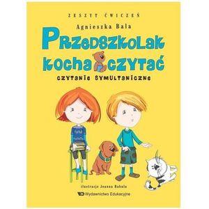 Przedszkolak kocha czytać Czytanie symultanicz.z.ćwiczeń (55 str.)