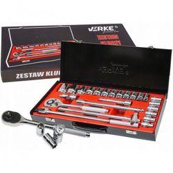 Zestaw kluczy nasadowych 24 el 1/2″ walizka premium line marki Verke