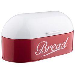 Tadar Vintage chlebak stalowy w kolorze czerwonym