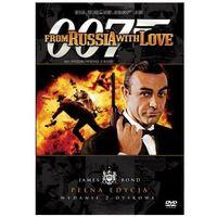 James Bond ekskluzywna edycja 2-płytowa: 007 Pozdrowienia z Rosji (DVD) - Terence Young (5903570121814)