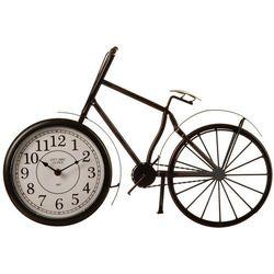 Oryginalny zegar stołowy w kształcie roweru w stylu vintage, kolor czarny, do salonu, sypialni, dekoracja