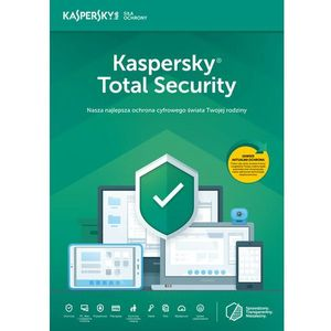 total security multi-device 3pc/1rok odnowienie marki Kaspersky