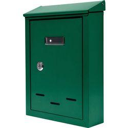 Skrzynka na listy 285x200x60mm zielona / 78543 /  - zyskaj rabat 30 zł marki Vorel
