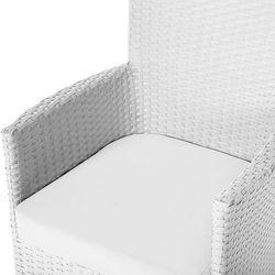 Zestaw poszewek na poduszki do mebli ogrodowych ITALY beżowy (4260602370109)