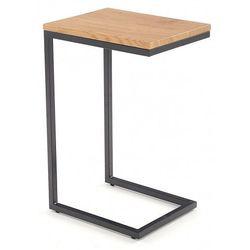 Wsuwany stolik pod laptopa Ostin - dąb złoty