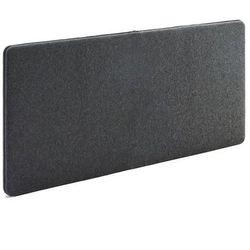 Aj Ścienny panel dźwiękochłonny zip 1400x650 mm ciemnoszary czarny suwak