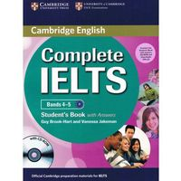Complete IELTS Bands 4-5 Student's Pack: Student's Book (podręcznik) with Answers & CD-ROM and Class Audio CD