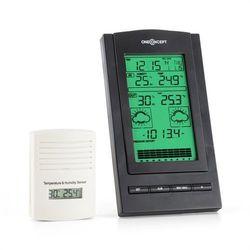 isfjorden stacja pogodowa alarm zasilanie baterią 1 x zewnętrzny czujnik radiowy marki Oneconcept