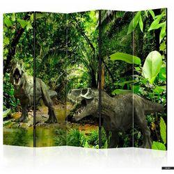 SELSEY Parawan 5-częściowy - Dinozaury w dżungli