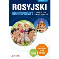 Rosyjski. Multipakiet. Kompletny Kurs Dla Początkujących (2 Książki + 4 Cd Mp3) (Edgard)