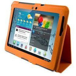 Etui do tabletu  ultra slim na galaxy tab 2 10.1 cala pomarańczowy 9101 darmowy odbiór w 15 miastach! wyprodukowany przez 4world