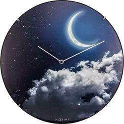 Zegar ścienny new moon dome  35 cm marki Nextime