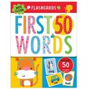 Flashcards 50 First Words ze zmywalnym flamastrem (9781786929532)