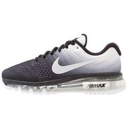 Nike Performance AIR MAX 2017 Obuwie do biegania treningowe black/white z kategorii obuwie do biegania