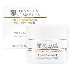 Janssen Cosmetics TRIFOLIA FACE MASK Maska kremowa wygładzająca zmarszczki (141) - produkt z kategorii- Pozo