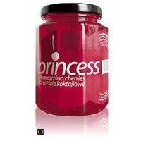 Czereśnie Koktajlowe Princess Marashino Cherries - Karminowe 0,448l