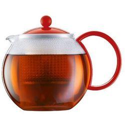 Bodum - zaparzacz do herbaty assam, czerwony - 1.00 l