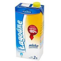 Mleko POLMLEK Łagodne bez laktozy 1l. 2%