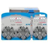 66 x baterie do aparatów słuchowych  extra advanced 675 mf wyprodukowany przez Rayovac