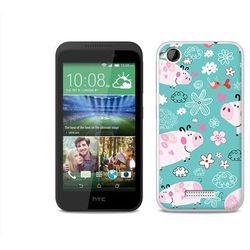 Fantastic Case - HTC Desire 320 - etui na telefon Fantastic Case - różowe świnki - sprawdź w wybranym skle