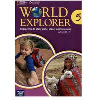 Język angielski World Explorer SP kl. 5 podręcznik / podręcznik dotacyjny, NOWA ERA