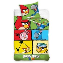 Tip Trade Pościel bawełniana Angry Birds 7007, 140 x 200 cm, 70 x 80 cm, kup u jednego z partnerów