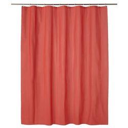 Zasłonka prysznicowa Cooke&Lewis Palmi 180 x 200 cm czerwona