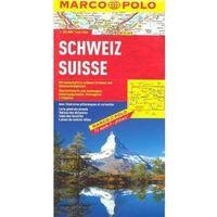 Szwajcaria. Mapa Marco Polo W Skali 1:303 000
