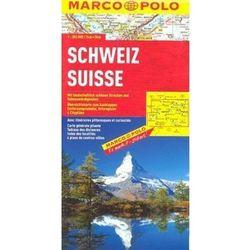 Szwajcaria. Mapa Marco Polo W Skali 1:303 000, książka z kategorii Geografia