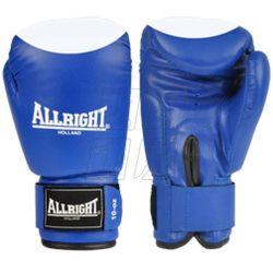 Rękawice bokserskie Allright PVC niebiesko-białe - produkt z kategorii- Rękawice do walki