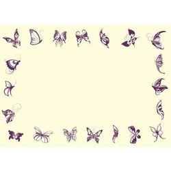 Tablica magnetyczna suchoscieralna dla dzieci motyle 121 marki Wally - piękno dekoracji