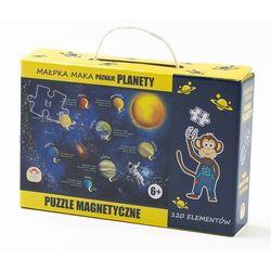 Puzzle magnetyczne poznaje planety marki Maka kids