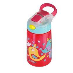 Kubek dziecięcy gizmo flip 420ml - cherry blossom love birds - czerwony marki Contigo