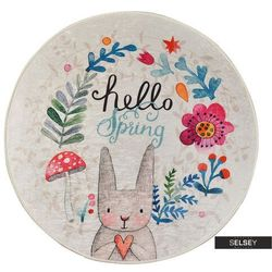 Selsey dywan do pokoju dziecięcego dinkley wiosna średnica 200 cm