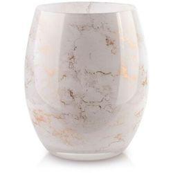 Cristie wazon 20x16cm biały marmur marki Sofa.pl