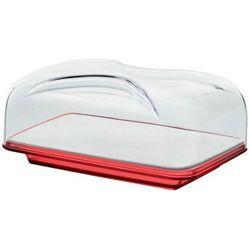 Deska do serwowania z pokrywą Guzzini Gocce czerwona