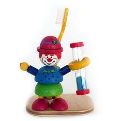 stojak na szczoteczkę do zębów z klepsydrą klaun, marki Hess