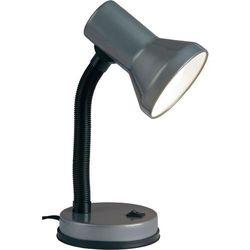 Lampa stołowa Brilliant Junior 99122/11, E27 x 1, 40 W, 230 V, (ØxW) 13 cmx30 cm, tytanowy (4004353967504)