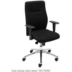 Fotel biurowy Orlando UP R16H steel 28 chrome Nowy Styl, 723