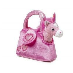 Torebka pluszowa dla Dziewczynki Różowy Jednorożec - produkt z kategorii- Torebki dla dzieci