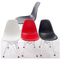 Krzesło dziecięce JuniorP016 inspirowane DSR - czerwone